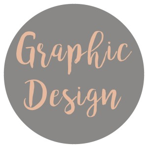 Graphic Design Grey-Dark Pink